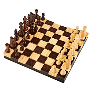 Pavilion 3D Wooden Chess Game
