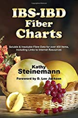 IBS-IBD Fiber Charts: Soluble & Insoluble Fibre Data for Over 450 Items, Including Links to Internet Resources Paperback