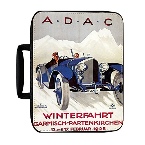A.D.A.C Vintage Auto Poster Insulated Lunch Box Bag (Vintage Ad Auto)