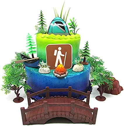 Fine Amazon Com Outdoor Camping Hiking Recreational Themed Birthday Personalised Birthday Cards Cominlily Jamesorg