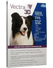 Summit VetPharm Vectra Azul 3D para Perros y Cachorros 21-55 lbs - 6 dosis