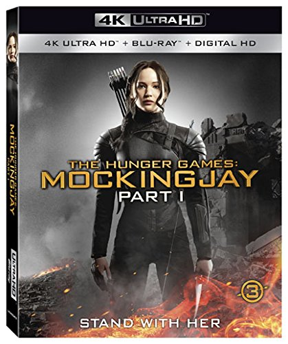 4K Blu-ray : The Hunger Games: Mockingjay, Part 1 (With Blu-Ray, 4K Mastering, 2 Pack, 2 Disc)