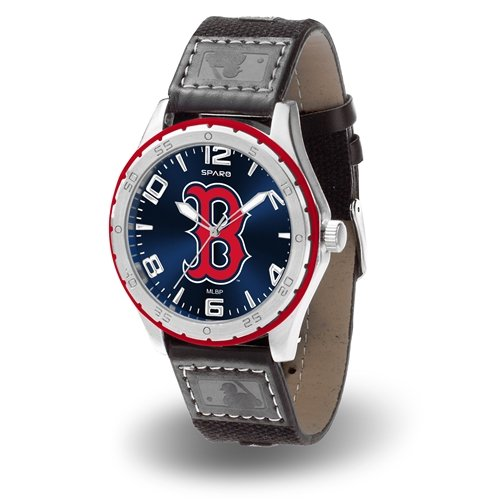 Rico Industries MLB Boston Red Sox WatchWatch Gambit Style, Team Colors, One Size