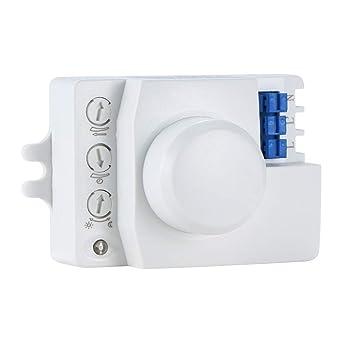 Lemonmax Interruptor de luz del sensor de movimiento, 220V ...