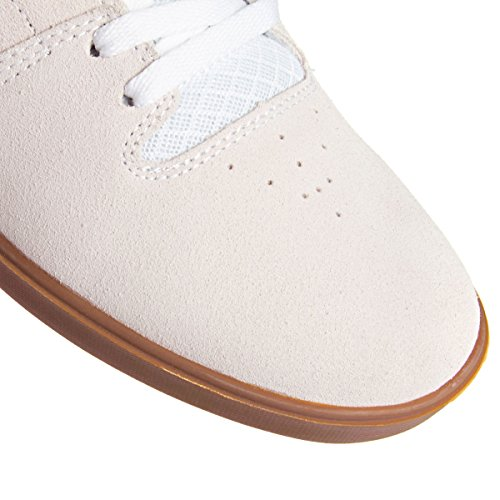 Zapatillas DVS: MNS Nica 008 White Suede Cement GR White