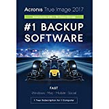 Software : Acronis True Image Subscription 1 Computer + 1TB Cloud Storage - 1 Year
