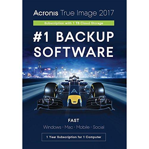 Acronis True Image Subscription 1 Computer + 1TB Cloud Storage - 1...