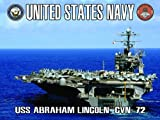 Navy Aircraft Carrier Poster USS Abraham Lincoln (ACC5)