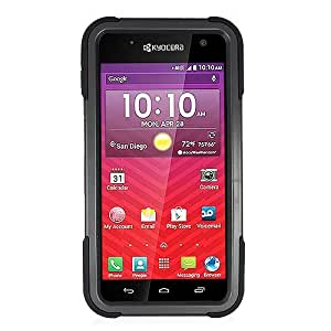 Eagle Cell Phone Case for Kyocera Hydro Wave C6740 - Retail Packaging - EC2 Black