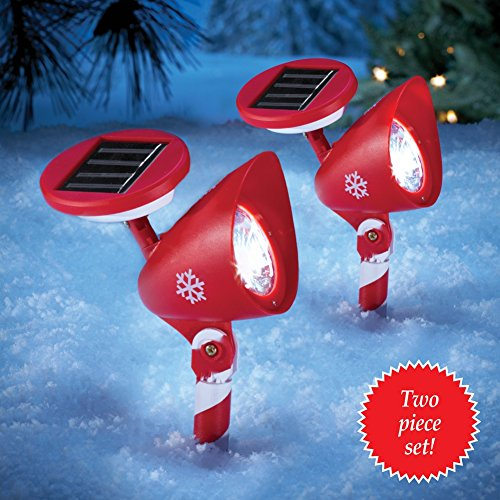 Candy Cane Solar Light Stakes