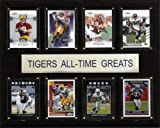 NCAA Football LSU Tigers All-Time Greats Plaque