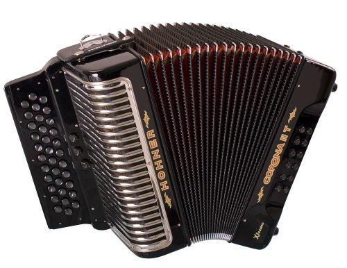 Hohner Corona II T Xtreme FBbEb, Black