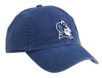 NCAA Duke University Franchise royal blue Fitted Hat, Navy Blue, X-Large