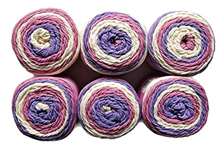 Amazon Sweet Roll Yarn 6 Pack Birthday Cake Pop