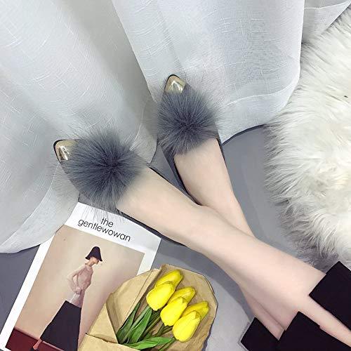 A Autunno E Moda Delle Donne Stivali Punta Superficiale Pi Bocca scarpa Basse Peluche Vovotrade Scarpe Casa Donna Inverno In wRxqOYHAW