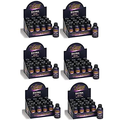 Image of Health and Household 5 Hour Energy Shot Extra Strength Grape- 72 Pack of 2 Ounce Bottles