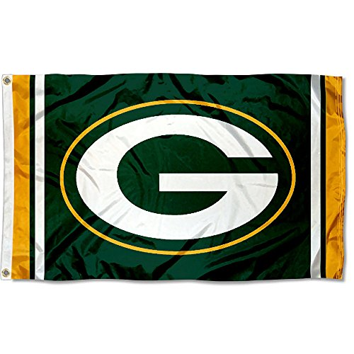 Green Bay Packers Large NFL 3x5 Flag (Green Bay Packers Decorations)