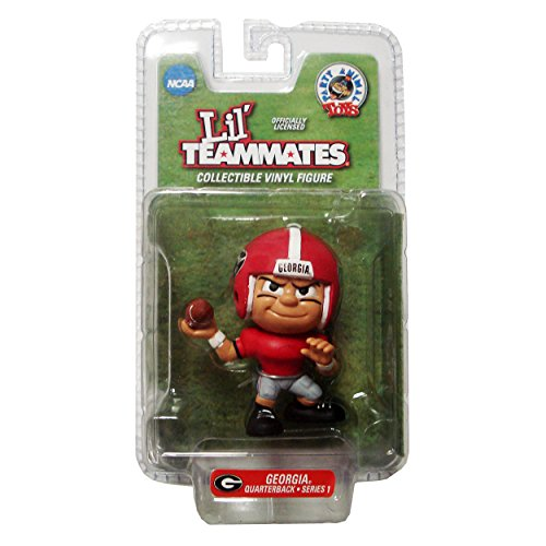 Lil' Teammates Georgia Bulldogs Quarterback NCAA Figurines ()