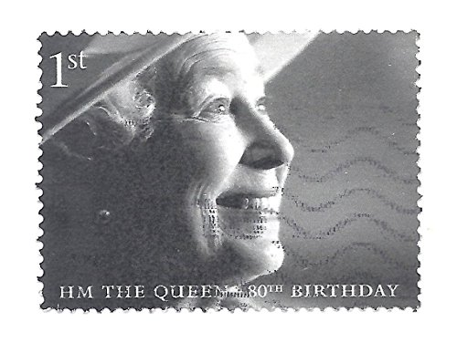 UK Postage Stamp 2006 1st Class Postage Queen With Hat 80th Birthday Scott (1st Birthday Postage)