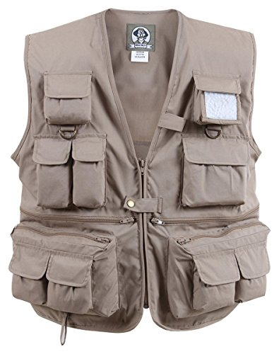 Rothco Uncle Milty Travel Vest, Khaki, 3X-Large