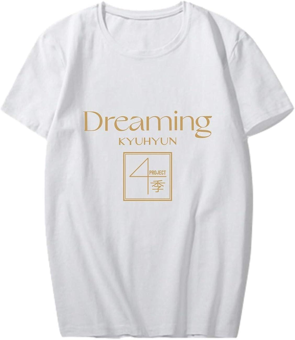 NCTCITY Unisexo Camisetas Manga Corta KPOP KYUHYUN T-Shirt ...
