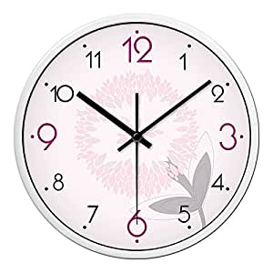 Zhi Wall Clock Silent Non Ticking The Living Room Wall Chart Mute Bedroom The