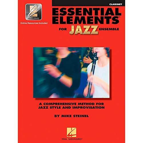 Essential Elements For Jazz Clarinet Bk with online - Clarinet Hal Leonard Jazz