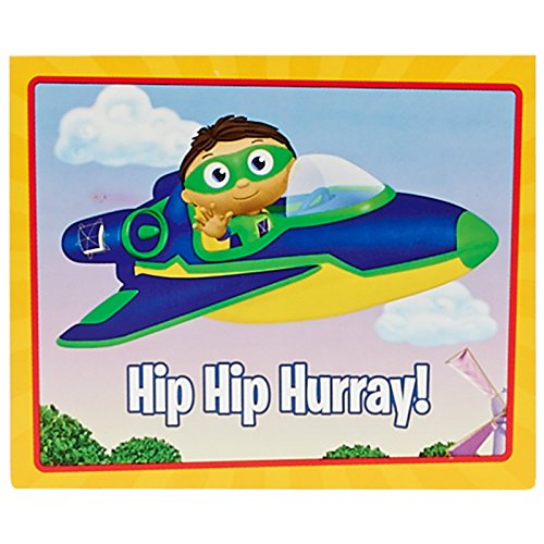 [Super Why Party Supplies - Thank-You Notes (8)] (Comicbook Costumes)
