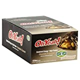 ISS OhYeah! OhYeah! Bar - Chocolate & Caramel - 12 Bars Box - 1.59 oz (45 g) bar