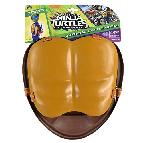 Teenage Mutant Ninja Turtles Movie 2 Out Of The Shadows Front and Back Roleplay (Ninja Turtle Costume Shell)