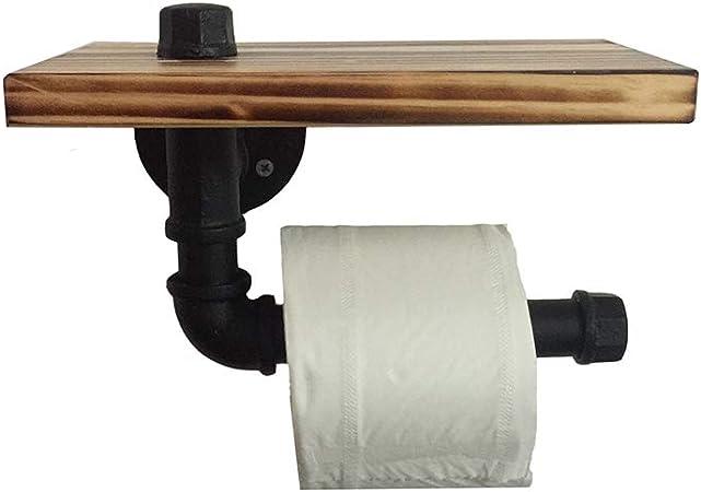 WC Toilettes Porte-rouleau papier toilette support Porte-rouleau papier rangement