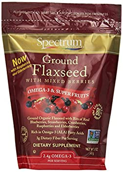 Spectrum Essentials Ground Flaxseed With Mixed Berries, 12 Ounce 0