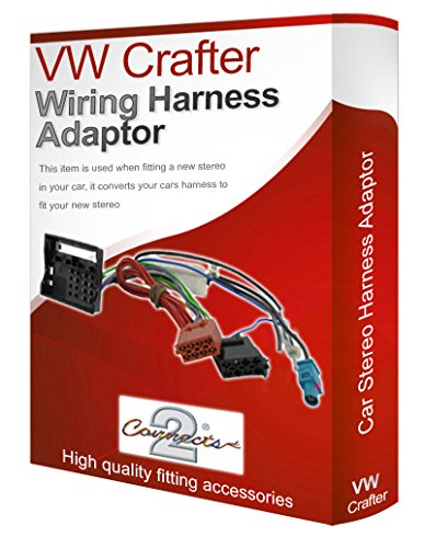 VW Crafter radio stereo wiring harness adapter lead loom ISO converter: Amazon.co.uk: Electronics