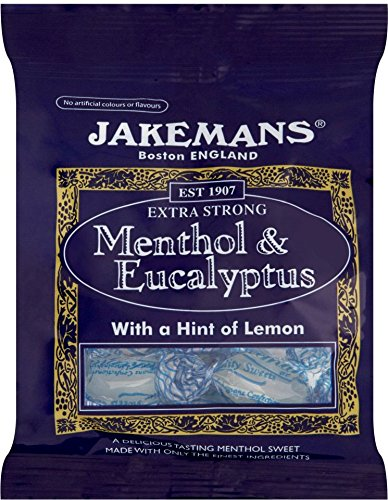 Jakeman's Menthol & Eucalyptus Lozenges - 100g Lozenges Menthol Eucalyptus