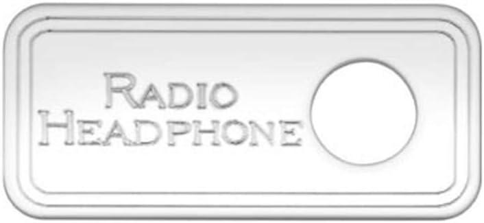 Woodys WP-KS121 S//S Sleeper Control Panel Head Phone Jack, Kw