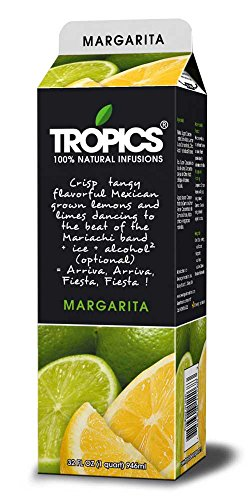 Tropics Margarita Drink Mix, 32 Ounce -- 12 per case. by Beverage Innovations