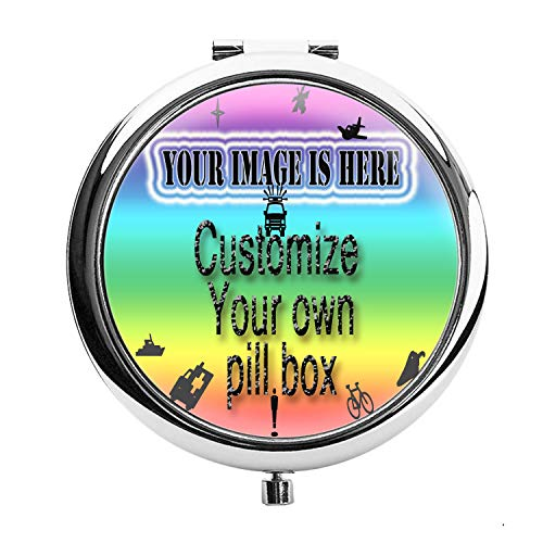 - Rex Parker Personalized Pill Box - Personalize it with a Custom Name, Great for Birthdays, Holidays, Office Gift, Customize Your own Pill case, Nurses, Pharmacists