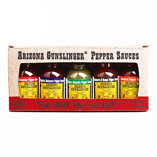 Arizona Gunslinger Pepper Sauce Variety Pack (2 Items Per Order, not per case) -