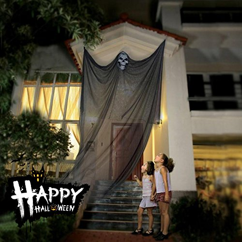 Halloween Decoration Hanging Ghost Spooky Creepy Evil Scary Flying Prop, Haunted House Backyard Parties Home Lawn (Creepiest Halloween Movies)