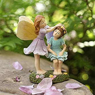Miniature Fairy Garden Easter Bunny #4 Buy 3 Save $5
