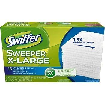 Amazon Com Swiffer Sweeper X Large Dry Sweeping Cloth