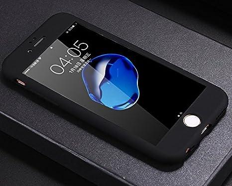Cover iPhone 5S,Cover iPhone 5,Cover iPhone SE,360 Full Body Cover Gel Silicone TPU Protettiva Resistente Graffi Case Cover con Protezione dello Schermo Vetro Temperato per iPhone SE//5S//5,Oro rosa