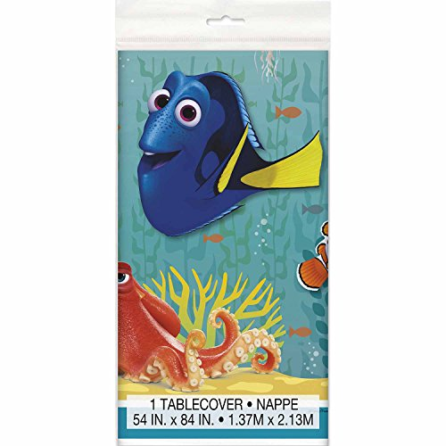 Unique Finding Dory Party Table Cover (Covers Unique Table)