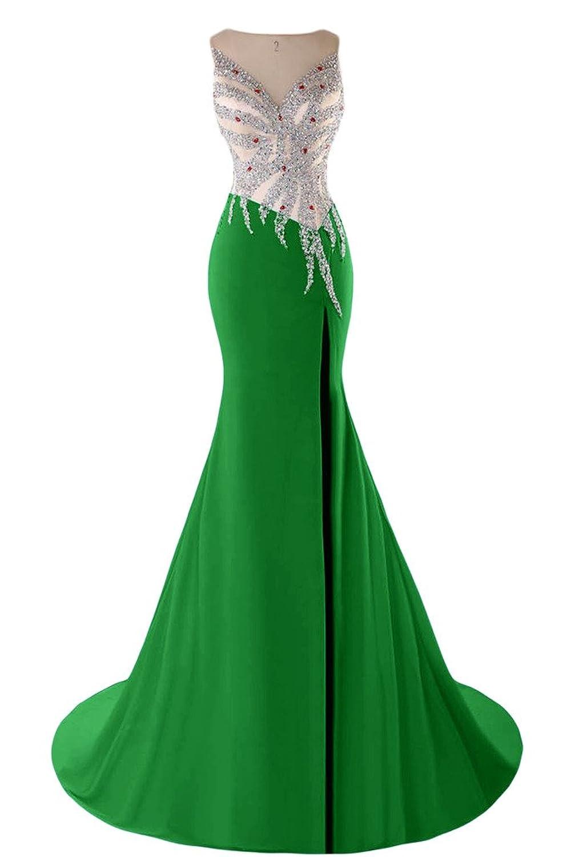 Sunvary Elegant Mermaid V-Neckline Party Gowns Evening Dress with V-Back