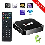 Android 7.1 tv box, Edal X96mini 1GB 8GB Amlogic Quad Core Suppot H.265 4K 30tps 2.4GHz WiFi Media Player