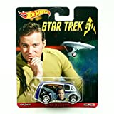 QUICK D-LIVERY * Star Trek / Captain James T. Kirk * Hot Wheels 2015 Pop Culture Star Trek 50th Anniversary Series Die-Cast Vehicle