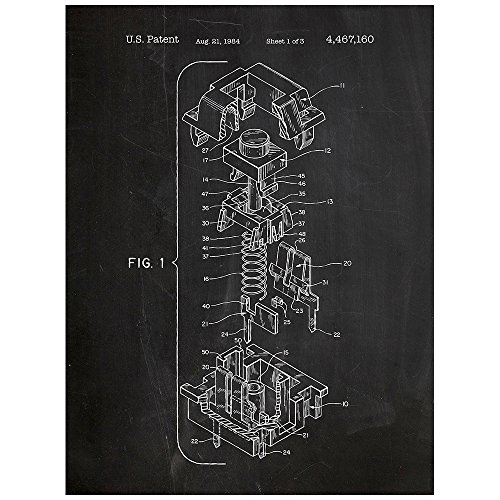 cherry-key-cap-design-patent-art-poster-18-x-24-inch-silk-screen-print-chalkboard