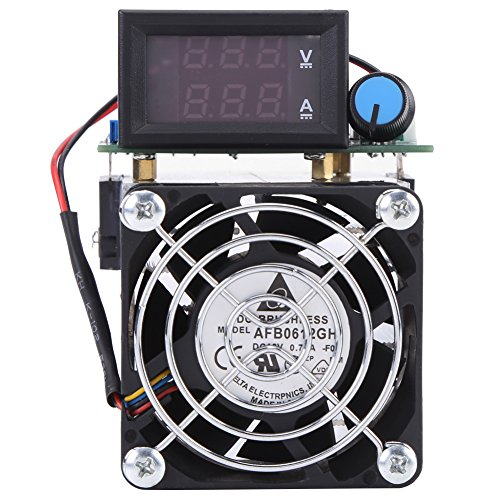 DC 12V Electronic Load Battery Capacity Tester Module 0-10A 100W Intelligent Constant Current Electric Discharge Monitor for Power Bank Capacity Testing by Walfront