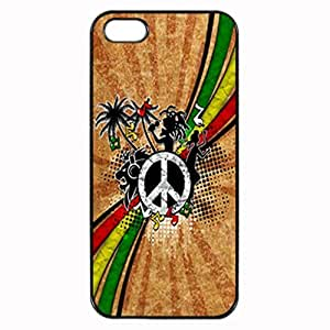 REGGAE MUSIC GENRE Pattern Image Protective iphone 4 / iPhone 4S Case Cover Hard Plastic Case For iPhone 4 4S