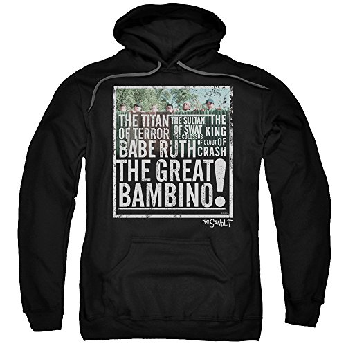 Sandlot - The Great Bambino Adult Pull-Over Hoodie